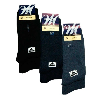 Мужские махровые носки Житомир 1018