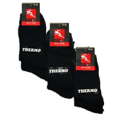 Мужские махровые носки Athletic Thermo 1019