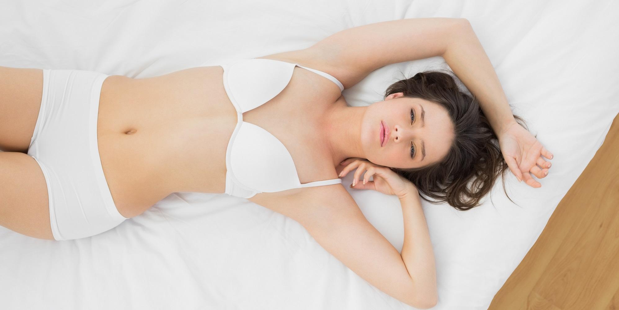 Бюстгальтер во время сна фото