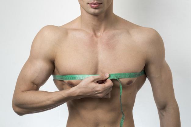 Измеряем обхват груди фото