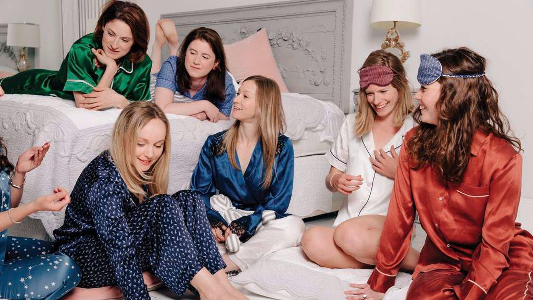 Что такое пижама пати фото